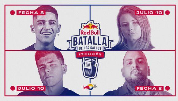 La fecha 8 se llevará a cabo el viernes 10 de Julio a través de REDBULL TV. Esta edición contará con la participación de BTA (España), Lobo Estepario (MX), Jokker (CL), y Røma (Arg). (Foto: Red Bull Content Pool)