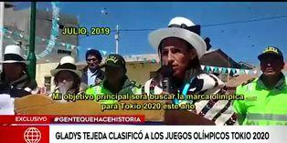 Gladys Tejeda cumplió el objetivo de clasificar a Tokio 2020