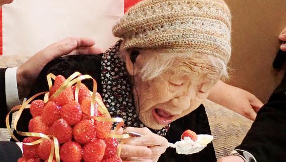 Kane Tanaka, una mujer japonesa de 118 años, es la persona viva verificada más antigua según Guinness World Records. (Foto de archivo: JIJI PRESS/ JIJI PRESS/ AFP)