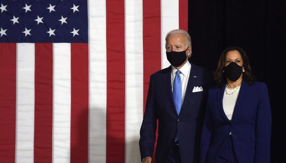 Joe Biden y Kamala Harris buscan llegar a la Casa Blanca tras cuatro años de gobierno del Partido Republicano. (Foto: AFP).