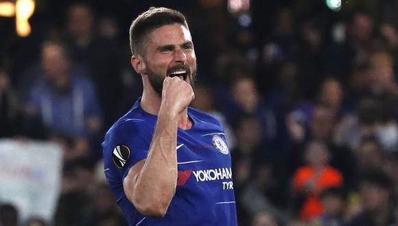 Olivier Giroud es jugador del Chelsea desde enero del 2018. (Foto: AFP)