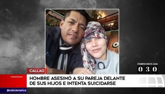 Marco Antonio Díaz Nortiel (45) asesinó a su esposa, Mónica Acuy Navarro, en una vivienda situada en la urbanización Santa Rosa (Callao). (América Noticias)