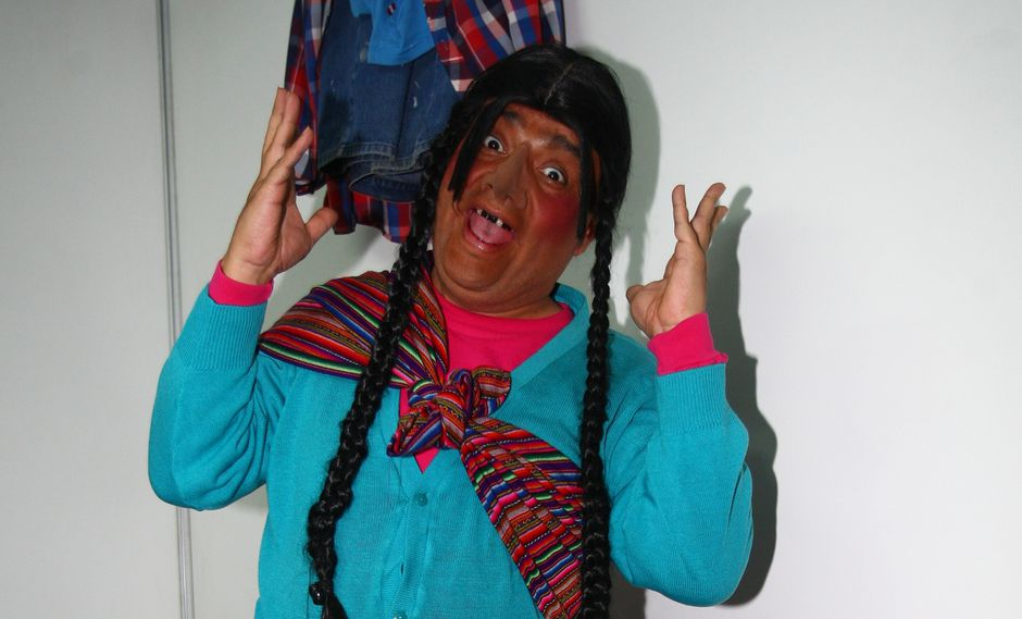"""""""La paisana Jacinta""""  aparece en el programa semanal """"El wasap de JB"""". (Foto: Trome)"""