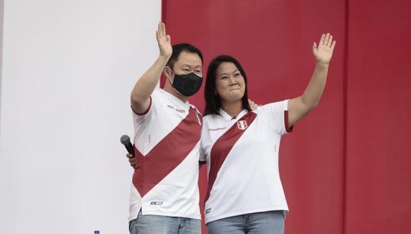 """Kenji Fujimori señaló que no iban a tolerar la """"actitud cobarde"""" y """"misógina"""" de Castillo Terrones al no asistir al evento que él mismo había propuesto. (Foto: Jessica Vicente/@photo.gec)"""