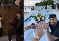 Nicky Jam: así es Cydney Moreau, la nueva prometida del reguetonero