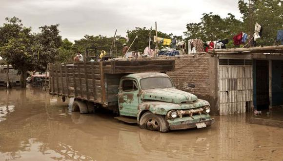 Desborde de río Ingenio deja 5 familias afectadas en Luya