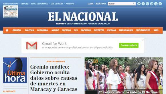 Diario venezolano sobrevivirá por solidaridad hasta diciembre
