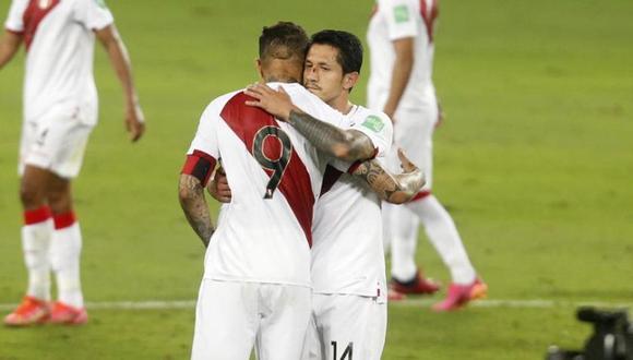 Paolo Guerrero habló sobre el desempeño de Gianluca Lapadula en el Perú vs. Ecuador. (Foto: GEC)