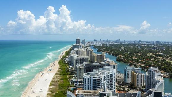 Miami Beach tiene a un lado el océano Atlántico, al otro, la bahía Biscayne y la ciudad de Miami. (Miami Beach).