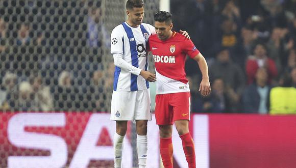 Radamel Falcao marcó un gol en la derrota de su equipo, Mónaco, contra Porto en la última fecha de la fase de grupos de la Champions League. (Foto: AP)