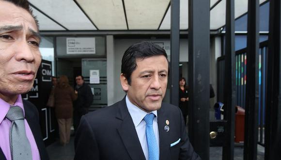 Guido Aguila, consejero del CNM, no fue incluido en investigación de la Comisión de Justicia del Congreso. (Foto: Dante Piaggio/ El Comercio)