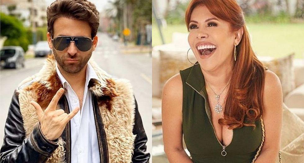 """Rodrigo González y Magaly Medina prometen mucho """"fuego"""" con una picante conversación sobre 'Chollywood'. (Foto: Instagram)"""