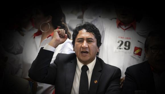 """La vocera Betssy Chávez sostuvo que se ha establecido un """"respeto orgánico al señor Vladimir Cerrón, quien ve los lineamientos políticos del partido, mientras que el profesor Pedro Castillo se encarga de la campaña presidencial"""". (Foto: Eduardo Cavero / GEC)"""