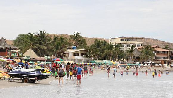 Piura: Máncora vuelve a ser considerada una playa saludable