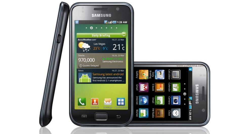 Samsung I900 (Galaxy S). (Foto: GSM Arena)