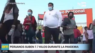 Reportes indican que el 85% de fallecidos en el Perú por COVID-19 eran obesos