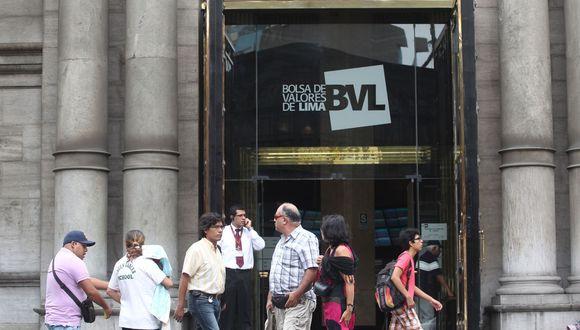 BVL tuvo buenos indicadores al inicio de la jornada. (Foto: Andina)