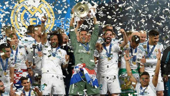 Navas fue el portero titular en la última Champions League que consiguió el Madrid. (Foto: AFP)