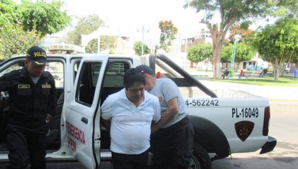 De acuerdo con la fiscalía, Ronald Peña también era profesor de religión de la adolescente en la institución educativa Santa Inés en el distrito de Guadalupe (Foto: Johnny Aurazo)