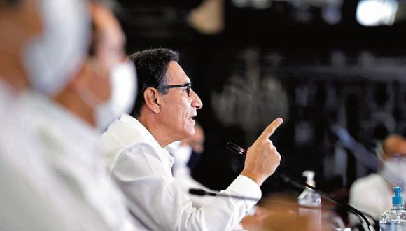 """""""En el plano económico, es plausible la rápida reacción del Ministerio de Economía y del Banco Central al anunciar un paquete de rescate económico cercano al 12% del PBI""""."""