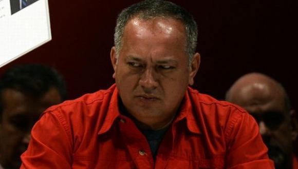 Venezuela: Cabello demandará a medios de España y EE.UU.