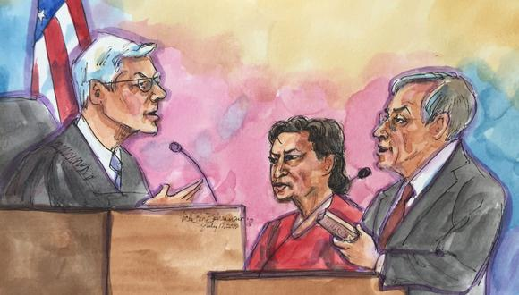 Así lució el expresidente Alejandro Toledo, quien es requerido por la justicia peruana. (Foto: Reuters)
