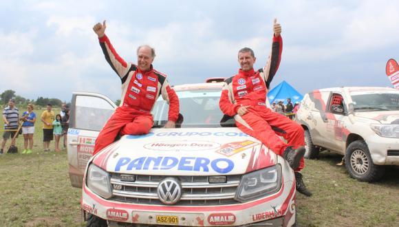 Por octava vez los Ferrand, padre e hijo, completan el Dakar. Ellos buscarán tener el récord del competidor más veterano en la prueba. (Foto: Christian Cruz Valdivia)