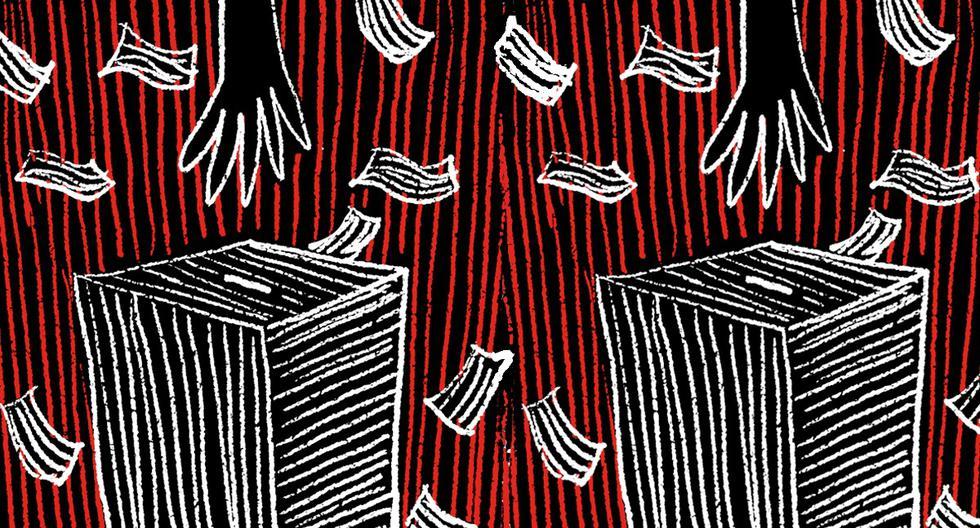 """""""Es muy común que familias enteras tramiten juntas la renovación de su DNI y acaben votando en la misma mesa"""". (Ilustración: Giovanni Tazza)"""