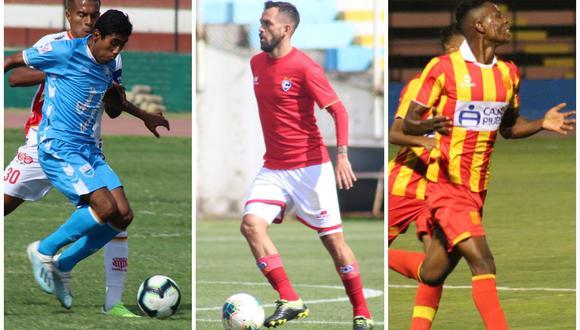 Deportivo Llacuabamba, Cienciano y Atlético Grau, además de Carlos Stein, son los equipos que ascendieron a la máxima categoría del fútbol peruano. (Foto: Facebook de los clubes)