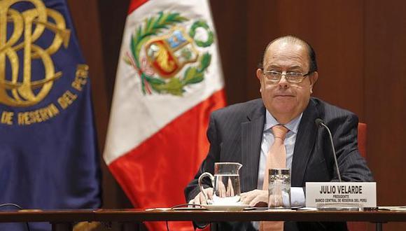 Julio Velarde, presidente del BCR (Foto: USI)