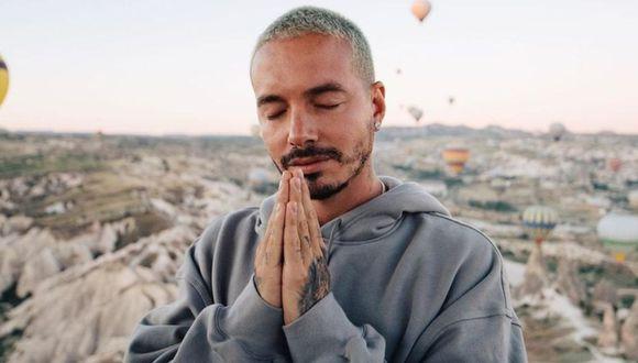 J Balvin confiesa que la meditación es la receta de su paz mental. (Foto: Instagram)