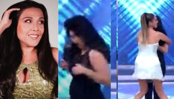 Tula Rodríguez se pronuncia sobre percance que sufrió con su vestuario en programa en vivo. (Foto: captura de video/Instagram)