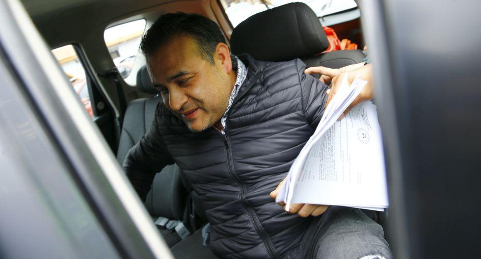 Orderique reconoció la falta, pagó una multa de s/ 4,200 y que se acogió al principio de oportunidad por los delitos que se le imputaban. (Foto: Allengino Quintana)