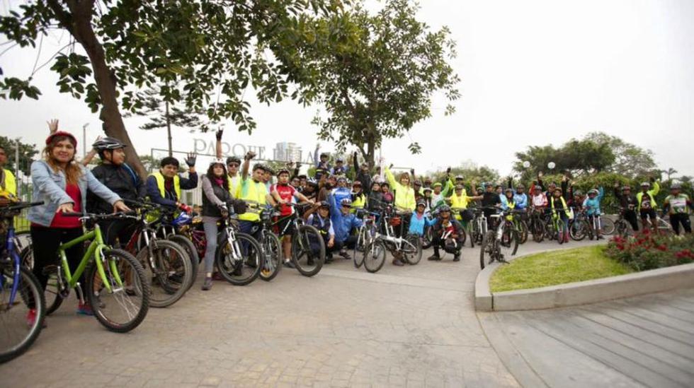 Ciclistas pedalearon hasta el Morro Solar de Chorrillos [FOTOS] - 10