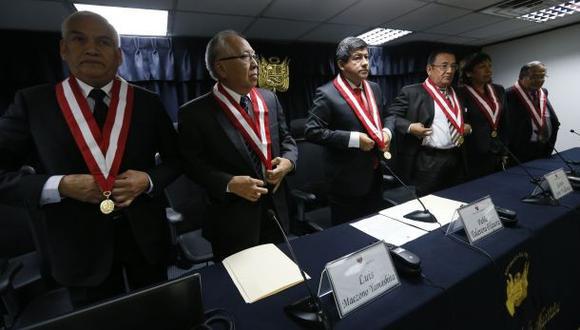 CNM por ahora no se pronunciará sobre nueva resolución del TC