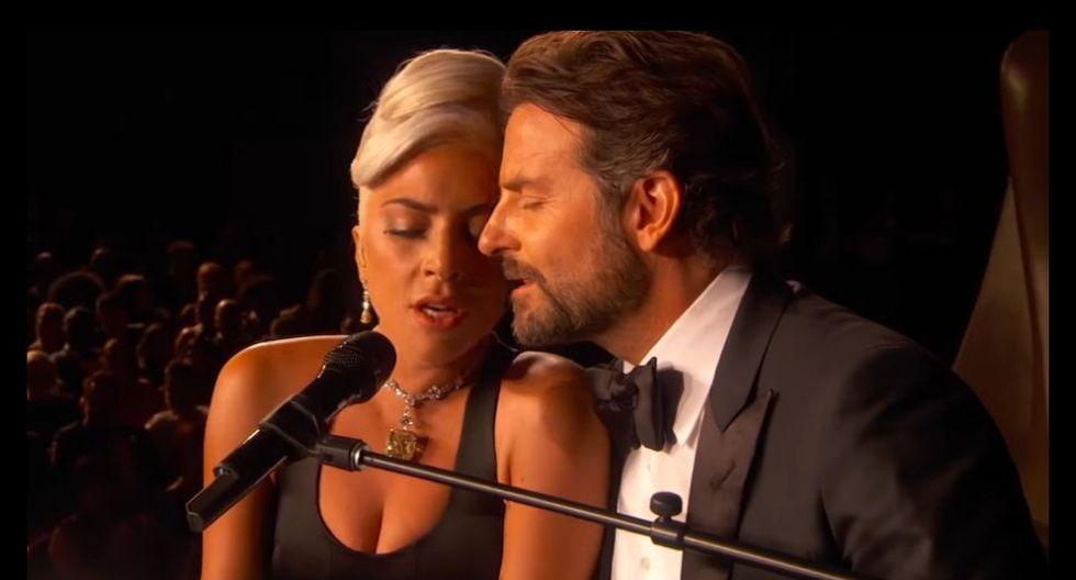 """Lady Gaga y Bradley Cooper interpretan el tema """"Shallow"""", el cual figura como uno de los más escuchados por los usuarios. (YouTube)"""