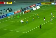 Perú vs. Brasil: Christofer Gonzales y la ocasión de gol que pudo acabar en el 2-0 | VIDEO