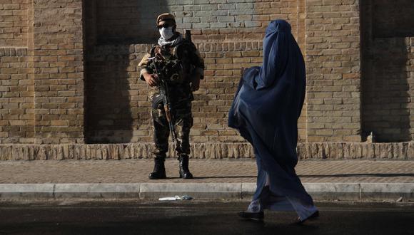 Un soldado afgano en Herat, Afganistán. EFE