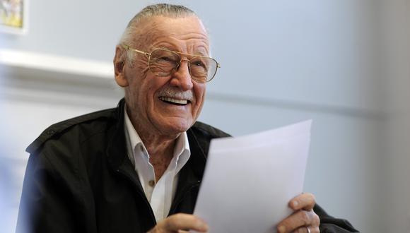Stan Lee, creador de cómics, envió video al portal TMZ. (Foto: AP)
