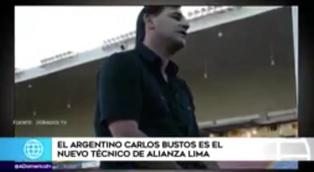Carlos Bustos es el nuevo entrenador de Alianza Lima
