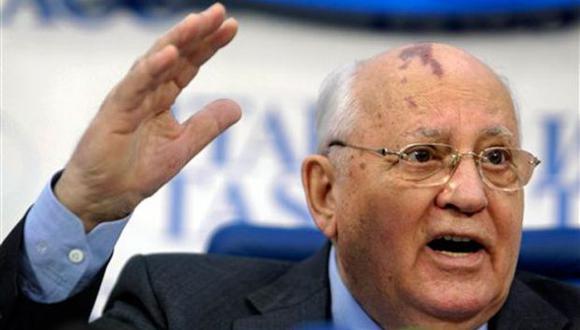 Diputados rusos quieren juzgar a Gorbachov por acabar con URSS