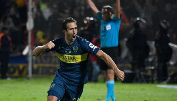 Boca Juniors se impuso en la tanda de penales frente a Rosario Central y se consagró en la Supercopa Argentina en el estadio Malvinas Argentinas de Mendoza (Foto: AFP)