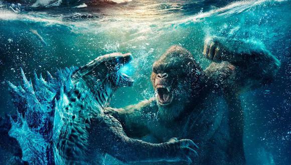 """""""Godzilla vs. Kong"""" anota un récord para pandemia de 48,5 millones de dólares en estreno en EEUU. (Foto: Warner Bros)."""
