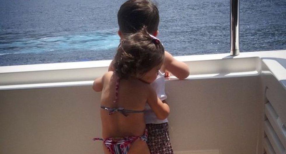 ¿Quiénes son los niños de la foto publicada por novia de Messi?