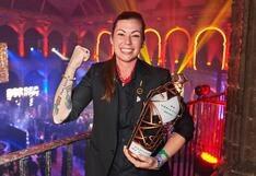 Una mujer alza por segundo año consecutivo la copa de la coctelería mundial