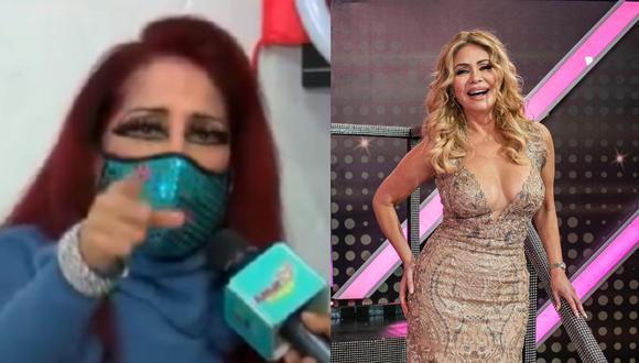 Monique Pardo pide que producción de Gisela Valcárcel se haga cargo de su salud. (Foto: Captura Amor y Fuego/@elgranshowperu).