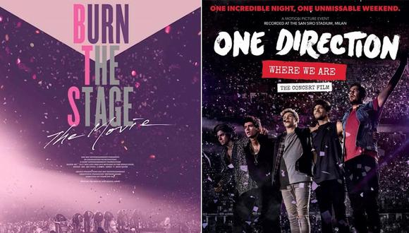"""Burn The Stage"", el filme de BTS, superó a ""Where We Are Now"" de One Direction. (Difusión)"