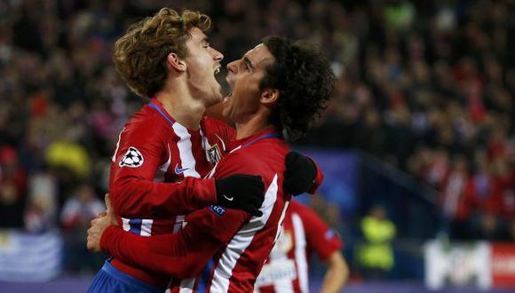 Atlético de Madrid venció 2-0 a PSV en el Vicente Calderón