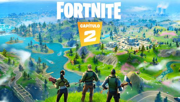Fortnite: Capítulo 2 ya está disponible. (Imagen: Epic Games)