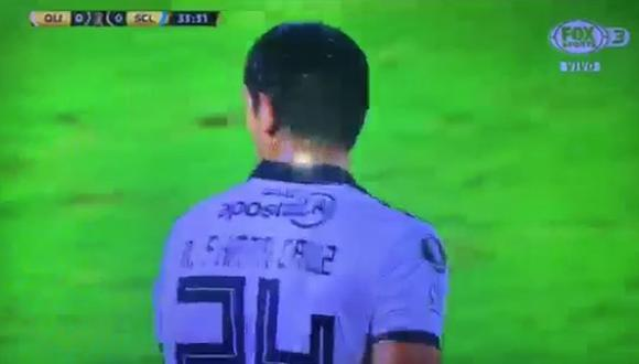 Roque Santa Cruz tuvo en su cabeza el 1-0 del Sporting Cristal vs. Olimpia en el marco de la fecha 6 de la Copa Libertadores 2019 (Video: Fox Sports)